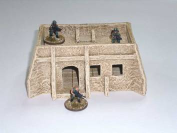 15mm Desert Dwellings