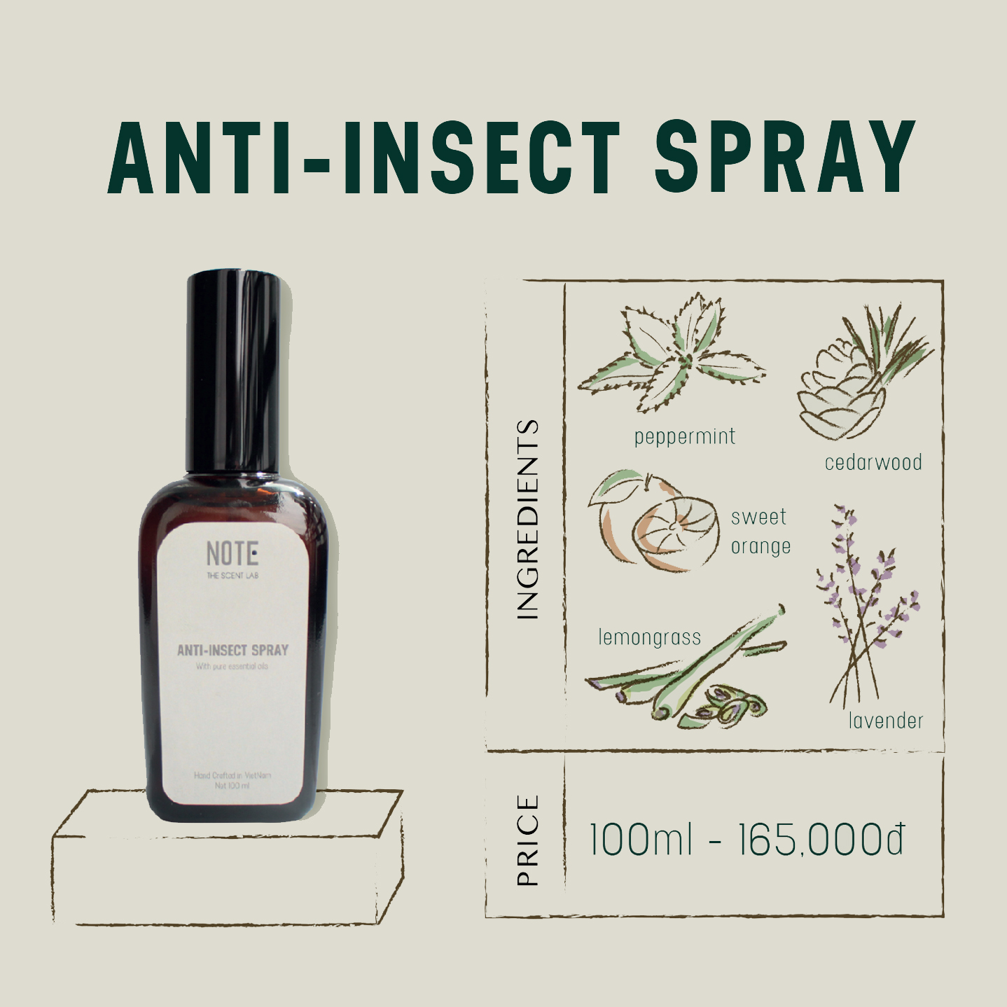 Anti-Insect Spary