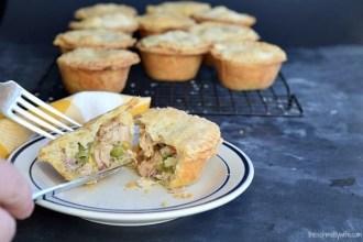 Leftover Turkey Mini Pot Pies