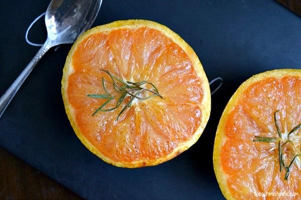 Honey Broiled Grapefruit