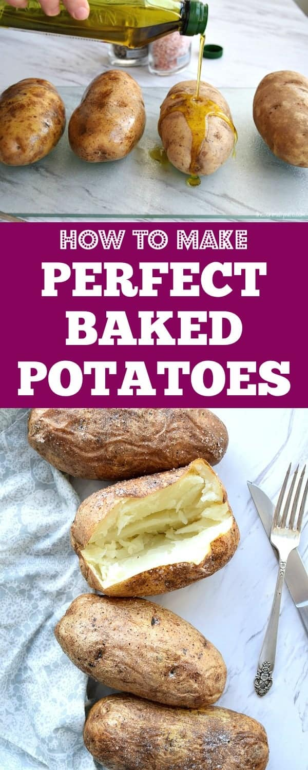 How to make Perfect Baked Potatoes