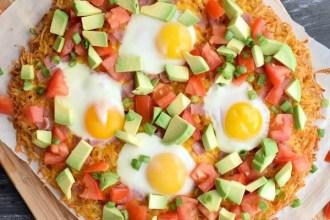 California Hashbrown Breakfast Pizza