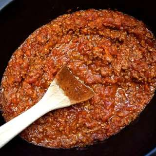 Crockpot Bolognese