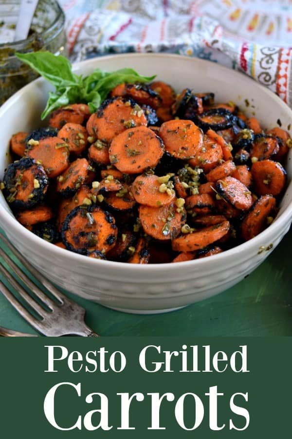 Pesto Grilled Carrots