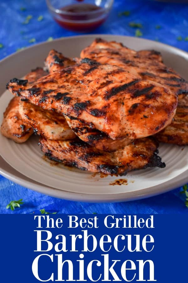 The Best Barbecue Grilled Chicken - How To Grill Chicken Breasts with Barbecue Sauce