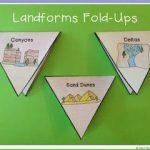 Landforms Fold-Ups