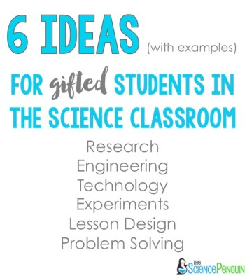 Science for Gifted Students