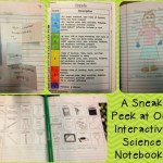 What's up in the Science Interactive Notebook? (week 1 and 2)