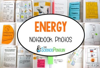 Forms of Energy Notebook and Ideas
