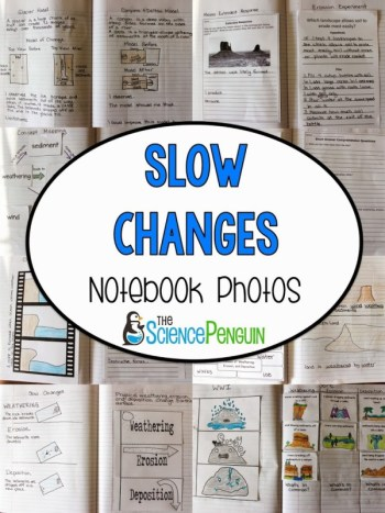 Slow Changes notebook photos and ideas