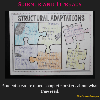 4 Ways to Connect Science & Literacy: Posters