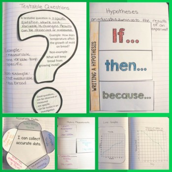 Science Process Skills Notebook activities