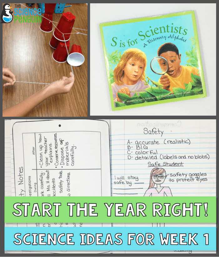 Starting the Year Off Right: Science Ideas for the First Week