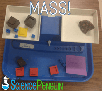Time to Teach Properties of Matter-- double pan balance activity for mass