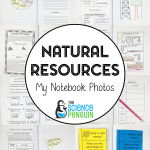 Natural Resources Science Notebook Photos