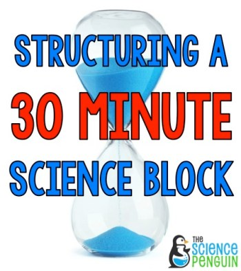 30 Minute Science Block