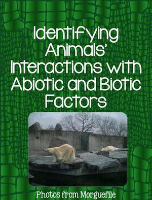 Biotic and Abiotic Lesson