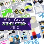 Why I Love Science Stations Units