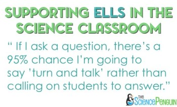 Supporting ELLs in the Classroom