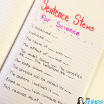 Starting Out with Sentence Stems