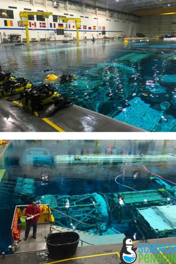 Neutral Buoyancy Lab where astronauts prepare for microgravity