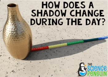 How does a shadow change during the day? Perfect investigation for Groundhog Day!