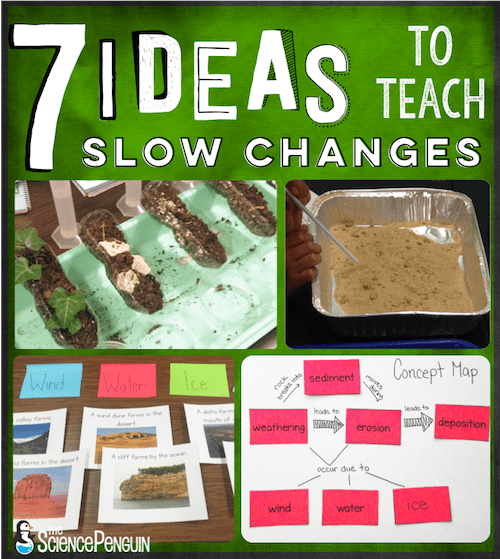 7 Ideas to Teach Slow Changes: Weathering, Erosion, and Deposition