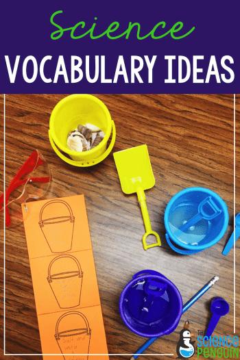 Science Vocabulary Ideas: Theme Days