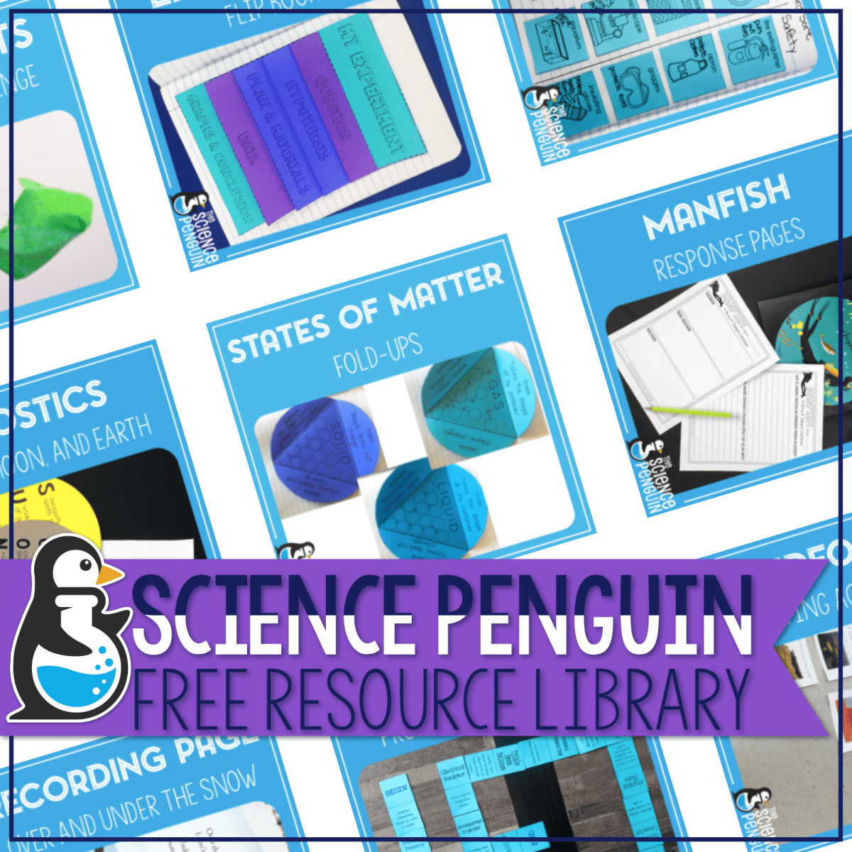 The Science Penguin Free Resource Library