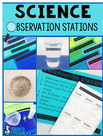 Science Observation Stations: Resources for 4th and 5th Grade