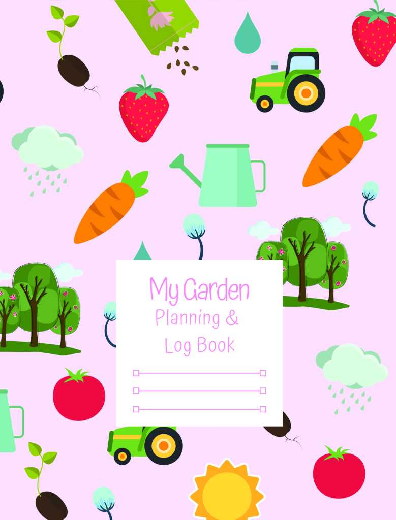 You can buy the pink cover version of My Garden Planning and Log Book on Amazon.