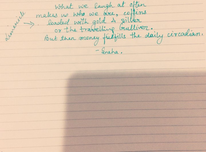 Limerick poem
