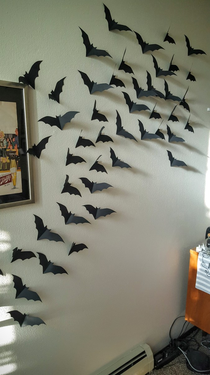 bats in the belfry: easy halloween diy