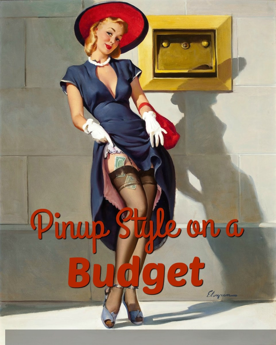 how to dress pinup on a budget