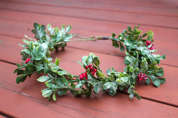 christmas crowns for holiday style