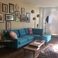 joybird sofa review | full review & quirky mid-century living room tour