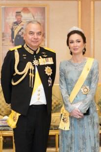 The Sultan and Raja Permaisuri of Perak. Photo: Infofoto