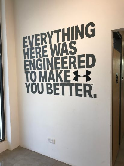 The new Under Armour Brunei store at One Riverside. Photo: Courtesy of Under Armour Brunei