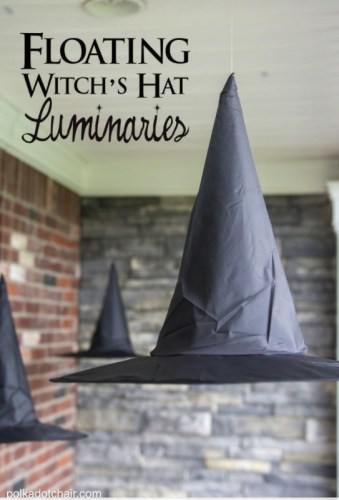 Floating Witches Hat Luminaries