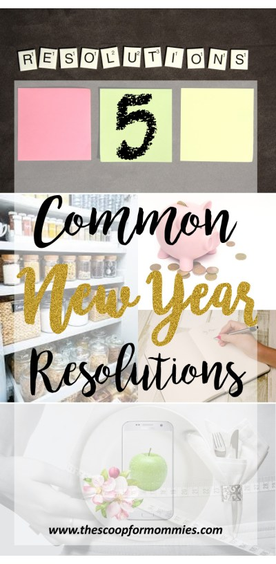 5 Common New Year Resolutions