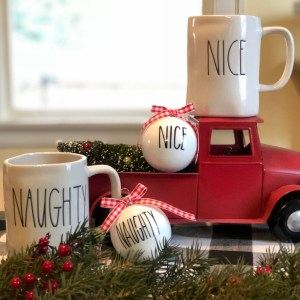 Farmhouse Christmas Ornaments-The Scoop for Mommies