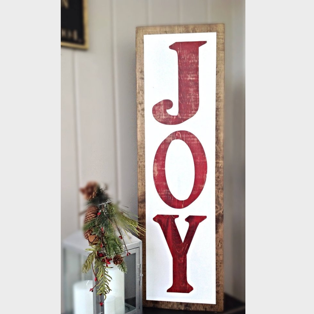 Joy Porch Sign-The Scoop for Mommies