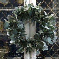 Lambs Ear Wreath-The Scoop for Mommies