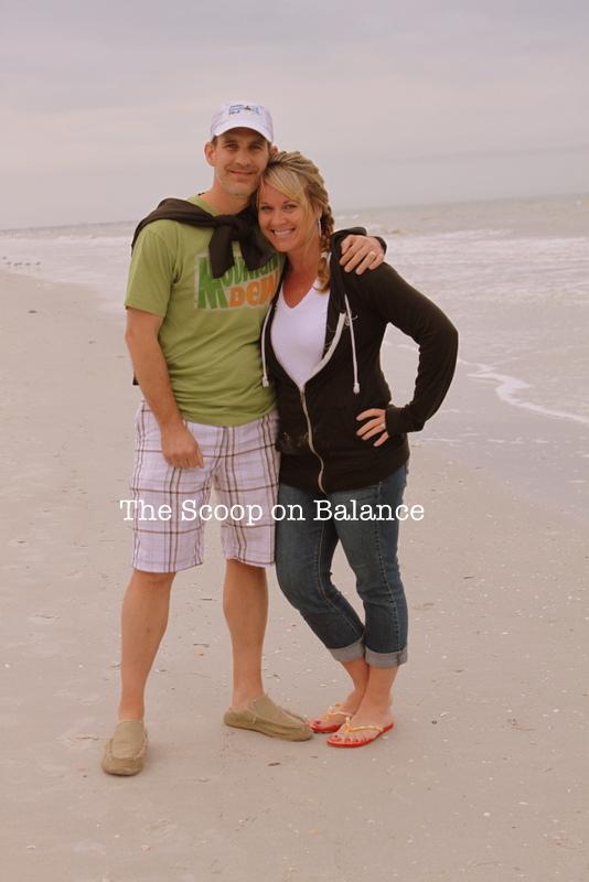 Jon and Me beach