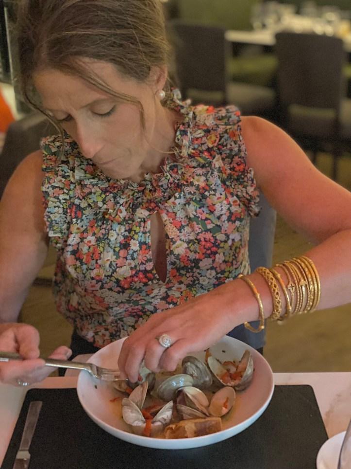 New menu addition of steamed clams at Salt & Char Restaurant