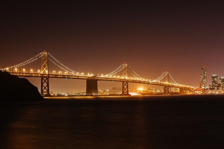 bay bridge in san francisco usa 948FVA3 768x512
