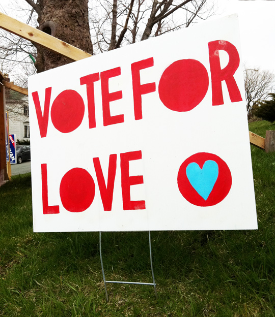 Image result for vote for love