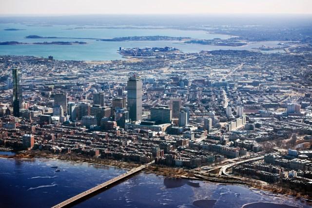 Boston, MA, city skyline