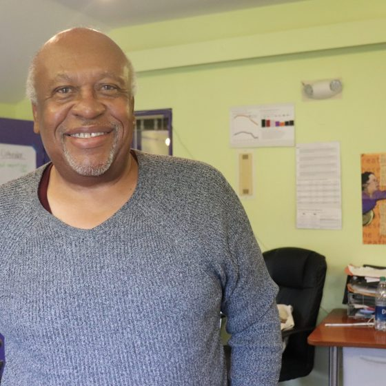 Horace Small has dedicated his life to social justice and leading minority communities. Photo by Eileen O'Grady.