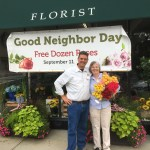 Changemakers: Florists George and Barbara Sawin on being good neighbors